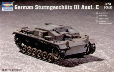 07258 - Sturmgeschutz/StuG.III Ausf.E 1/72