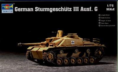 07260 - Sturmgeschutz/StuG.III Ausf.G 1/72