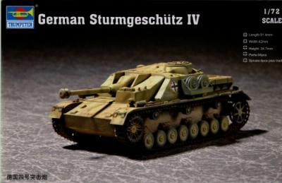 07261 - Sturmgeschutz/StuG.IV 1/72