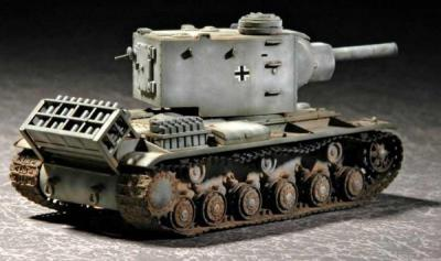 07266 - Pz.Kpfm Russian KV-2 754(r) 1/72