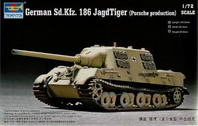 07273 - Sd.Kfz.186 JagdTiger (Porsche) 1/72
