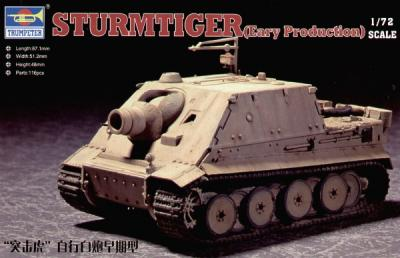 07274 - Sturmtiger Assault Mortar Early 1/72