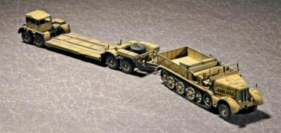 07275 - Sd.Kfz.9 (18t) Half-track and SdAH 116 Trailer 1/72