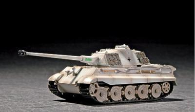 07292 - King Tiger Sd.Kfz.182 with Porsche Turret with Zimmerit 1/72