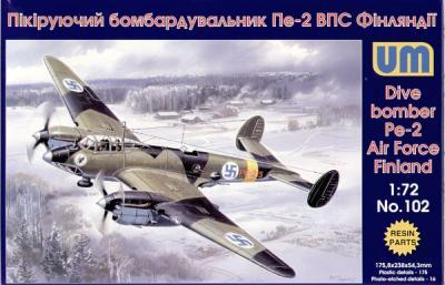 102 - Petlyakov Pe-2 Finnish Air Force 1/72