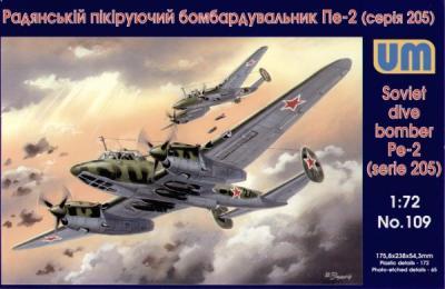109 - Petlyakov Pe-2 265 series 1/72