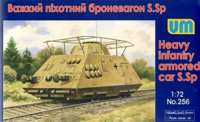 256 - Heavy infantry armored car S.Sp 1/72