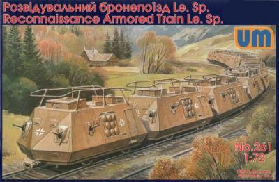 261 - Heavy anti aircraft car S.Sp 1/72