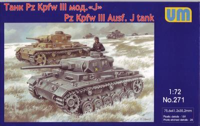 271 - Pz.Kpfw.III Ausf.J 1/72