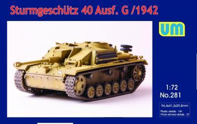 281 - Sturmgeschutz 40 Ausf.G early version 1/72