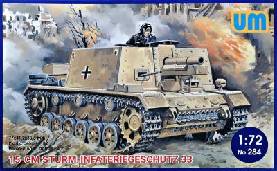 284 - 15cm Sturm-Infateriegeschutz 33 1/72