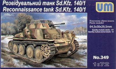 349 - Sd.Kfz.140/1 reconnaissance 1/72