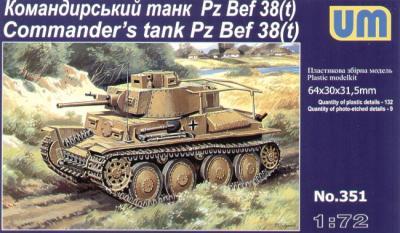 351 - Pz.Bef 28(t) Commanders tank 1/72