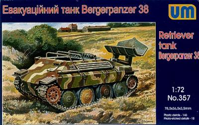 357 - Bergerpanzer 38 (Hetzer) 1/72