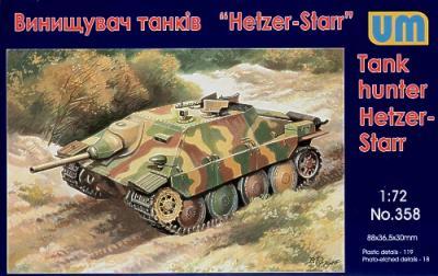 358 - Hetzer-STARR tank hunter 1/72