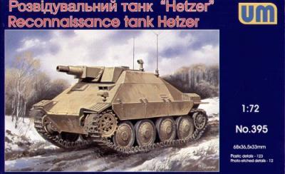 395 - Reconnaissance Tank Hetzer 1/72