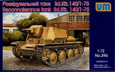 396 - Marder III Sd 140/1-75 1/72