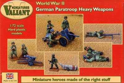 VM010 - German Para Heavy Weapons 1/72
