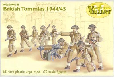 VM001 - British Tommies 1944-45 1/72