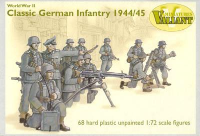 VM002 - WWII Classic German Infantry 1/72