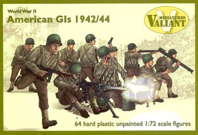 VM003 - WWII American G.I.s 1942/44 1/72