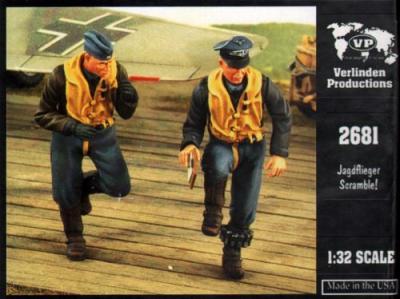 2681 - 'Jagdflieger Scramble' Luftwaffe pilots WWII