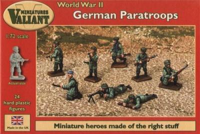 VM006 - German Paratroopers 1/72