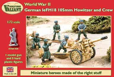 VM007 - German Howitzer and Crew 1/72