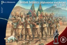 VLW1 - British Infantry (Afghanistan and Sudan) 1877-1885 28mm