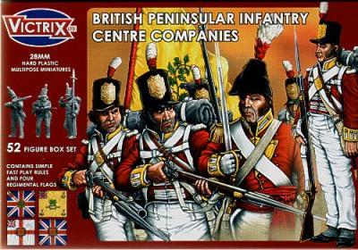 VX0002 - British Peninsular Infantry Centre Companies 1/72