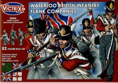 VX0003 - Waterloo British Infantry Flank Companies 28mm