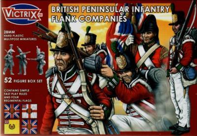 VX0004 - British Peninsular Infantry Flank Companies 28mm