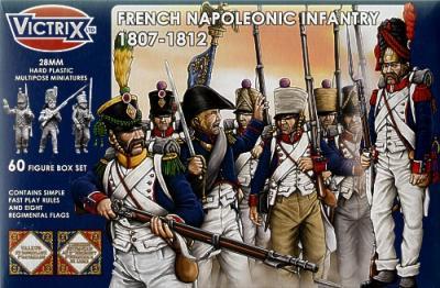 VX0005 - French Napoleonic Infantry 1807-1812 28mm