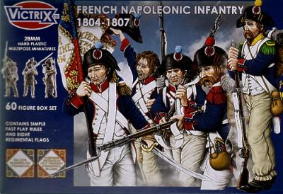 VX0008 - French Napoleonic Infantry 1804-1807 28mm