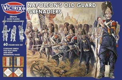 VX0009 - Napoleon's Old Guard Grenadiers 28mm