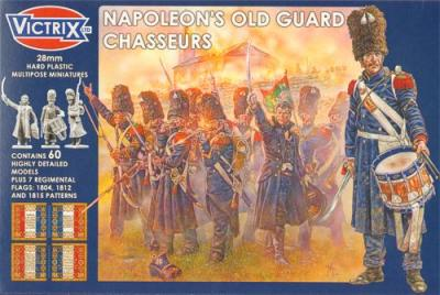 VX0011 - Napoleon's Old Guard Chasseurs 28mm