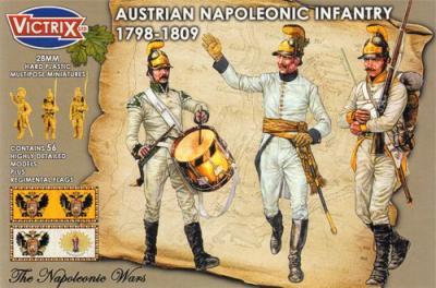 VX0012 - Austrian Napoleonic Infantry 1798-1809 28mm