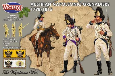 VX0013 - Austrian Napoleonic Grenadiers 1798-1815 28mm
