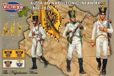 VX0014 - Austrian Napoleonic Infantry 1806-1815 28mm