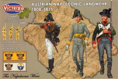 VX0015 - Austrian Napoleonic Landwehr 1808-1815 28mm