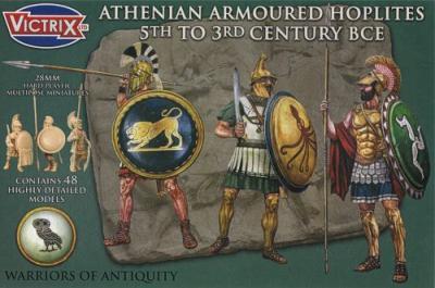VXA001 - Athenian Armoured Hoplites 5th to 3rd century BCE 28mm