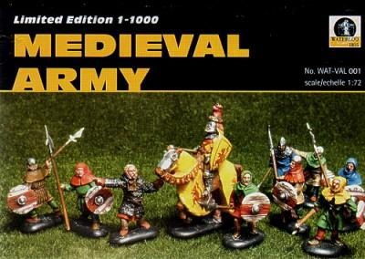 WAT-VAL001 - Medieval Peasants Army 1/72