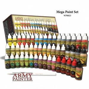 Warpaints mega paint set iii 2017 sets de base army painter
