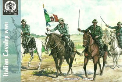 AP001 - WW2 Italian Cavalry 1/72