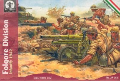 AP002 - Folgore Division Infantry 1/72