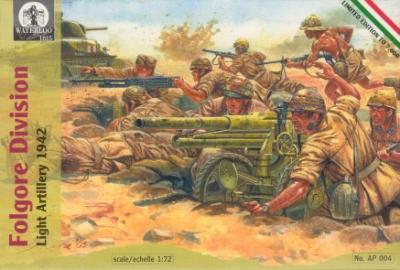AP004 - Folgore Division Light Artillery 1/72