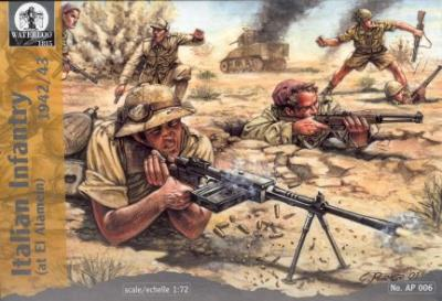AP006 - WW2 Italian Infantry (at El Alamein) 1/72