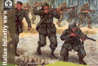 AP007 - WWII Italian Infantry 1/72