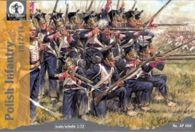 AP008 - Polish Infantry 1812/14 1/72