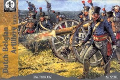AP009 - Dutch Belgian Artillery 1815 1/72